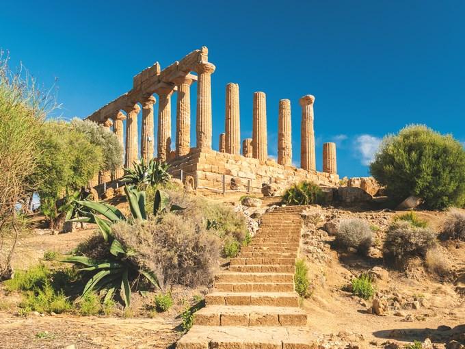 image Sicile agrigente ruines