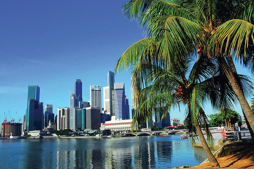 image Singapour Ville Panorama  fo