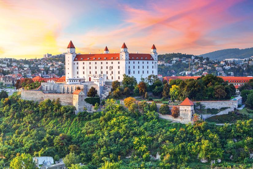 image Slovaquie bratislava chateau ete 83 fo_56934513