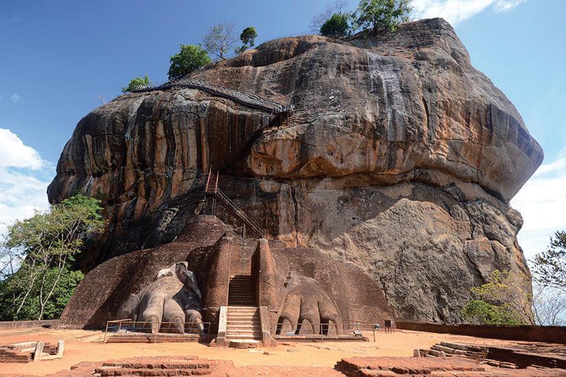 image Sri Lanka Sigiriya Sigiriya fortresse  it