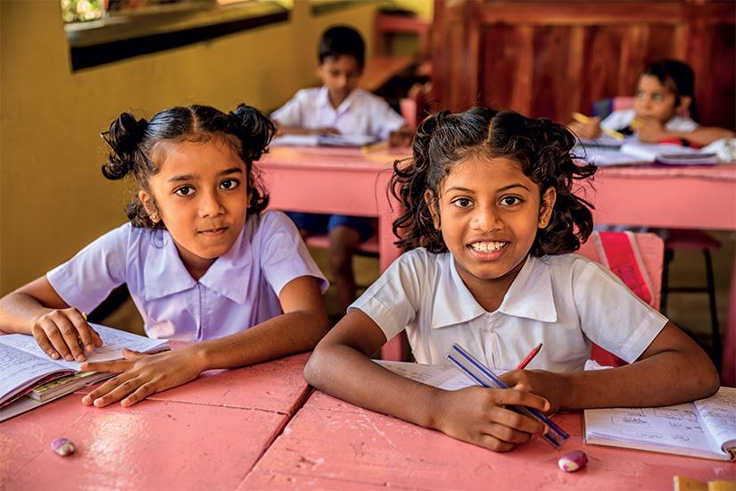 image Sri Lanka ecoliers en classe 33 it_507902844