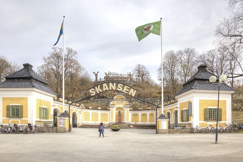image Suede Stockholm musee skanse  it