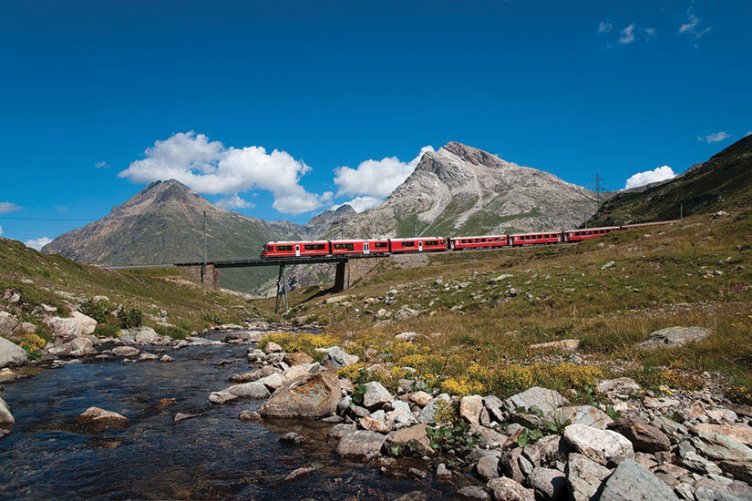 image Suisse Bernina Express  fo