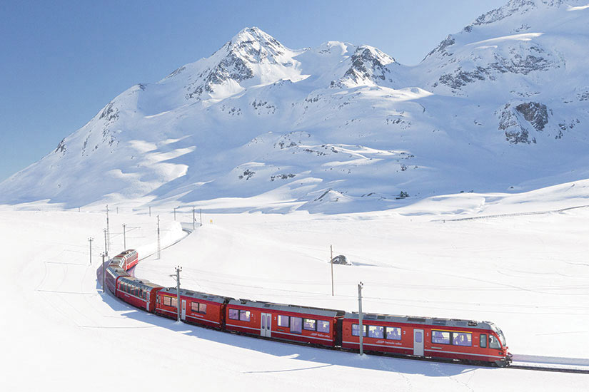 image Suisse Le Bernina Express  it