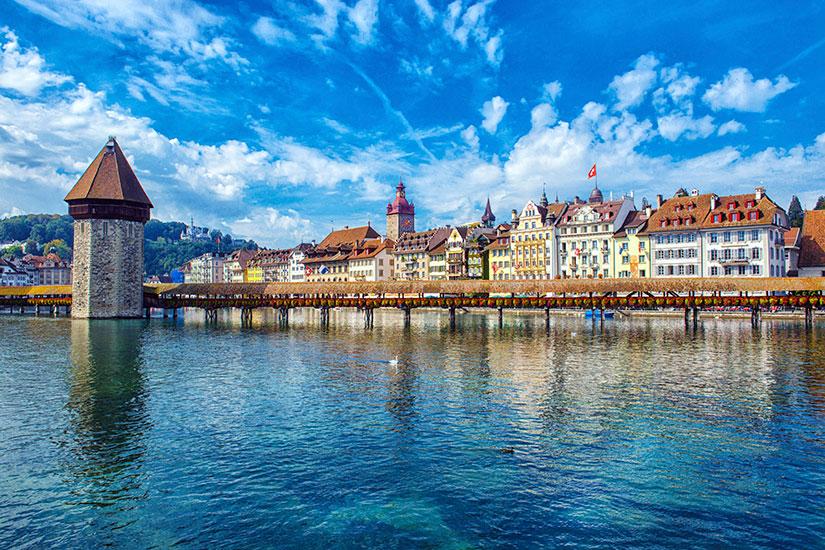 image Suisse Lucerne Tour Pont  it