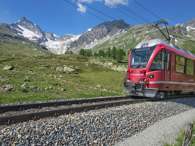 image Suisse bernina express
