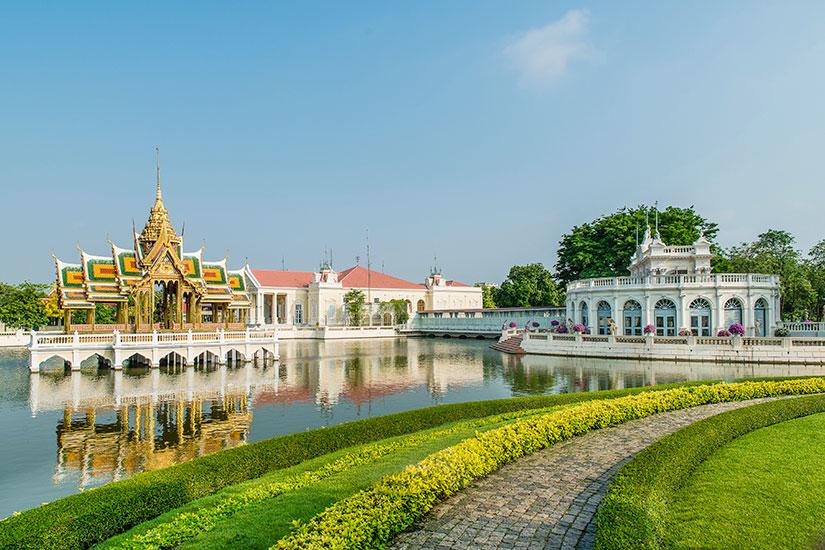 image Thailande Ayutthaya Bang Pa In Palais royal  fo