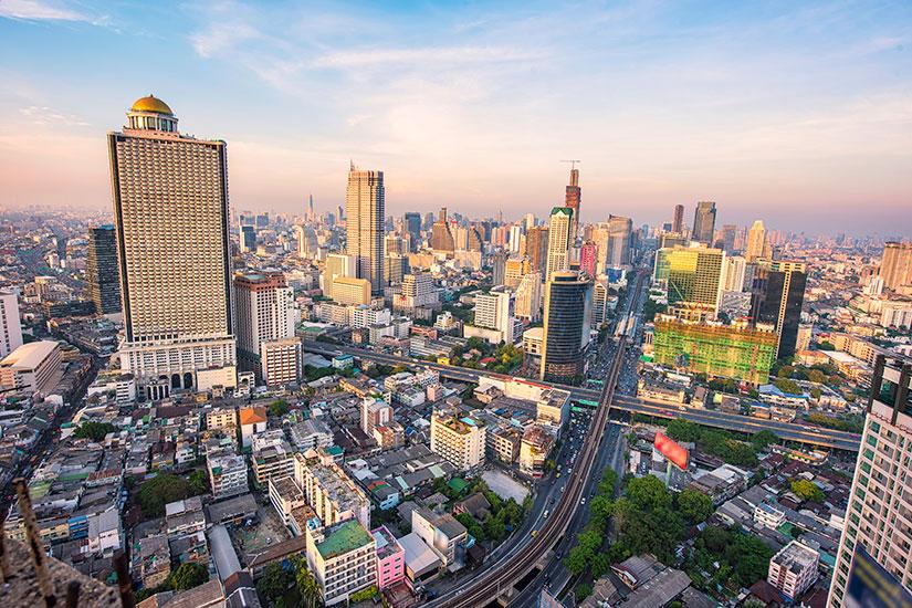 image Thailande Bangkok Horizon urbain  it