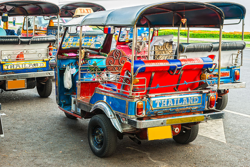 image Thailande Bangkok tuk tuk  fo