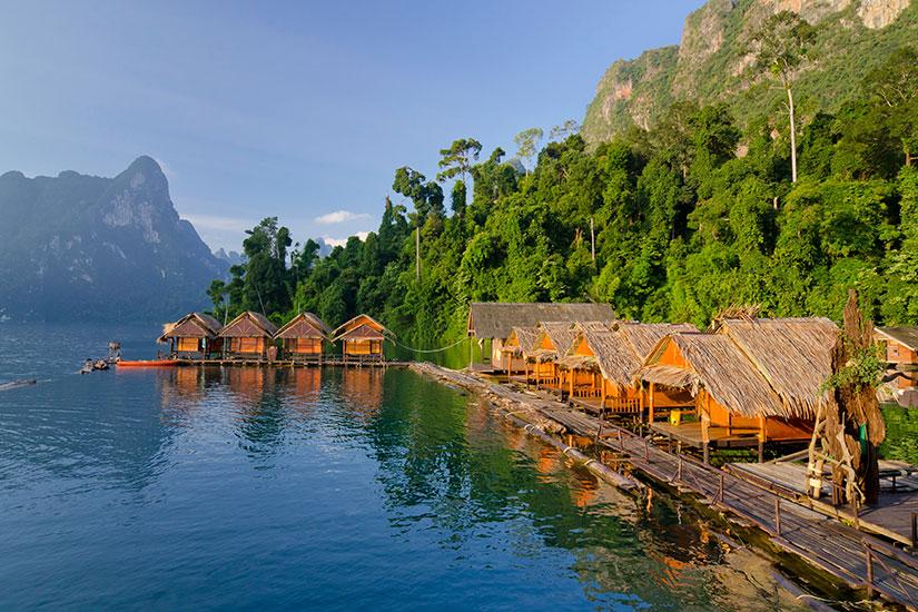 image Thailande Parc Khao Sok Lac Cheow Lan  it