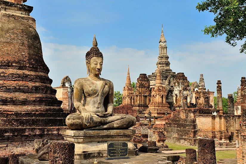 image Thailande Sukhothi Parc historique  it