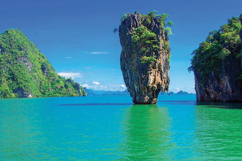 image Thailande ile james bond  fo