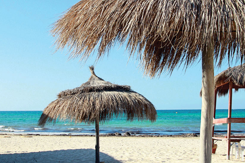 image Tunisie Djerba plage  fo