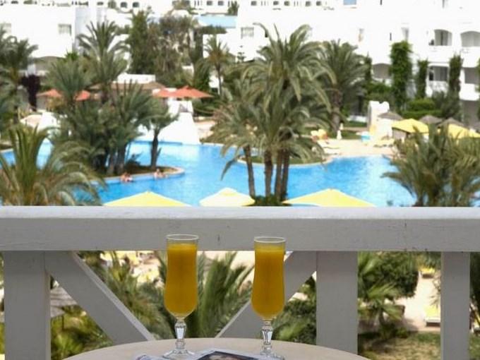 image Tunisie hotel vincci djerba ressort terasse