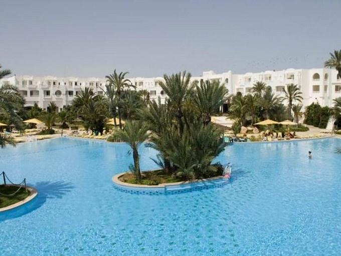 image Tunisie hotel vincci djerba ressort vue ensemble