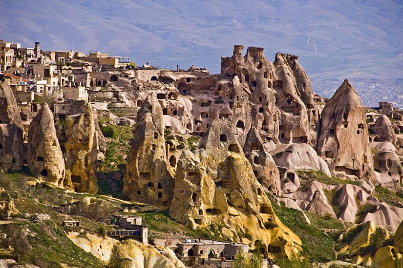 image Turquie Cappadoce village Uchisar  fo