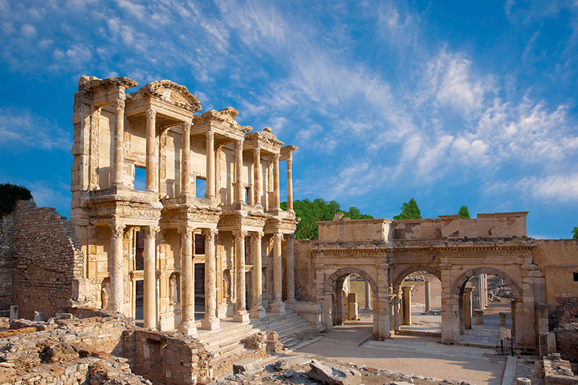 image Turquie Ephese Bibliotheque Celsus  it
