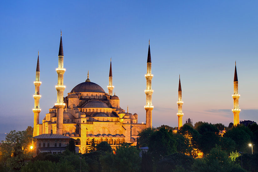image Turquie Istanbul Mosquee bleue  fo