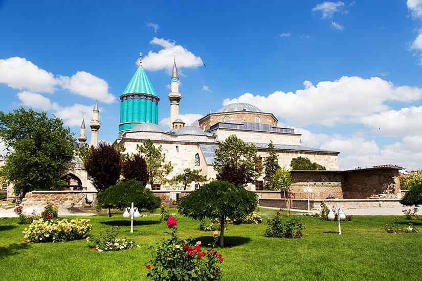 image Turquie Konya Tombeau Mevlana  it