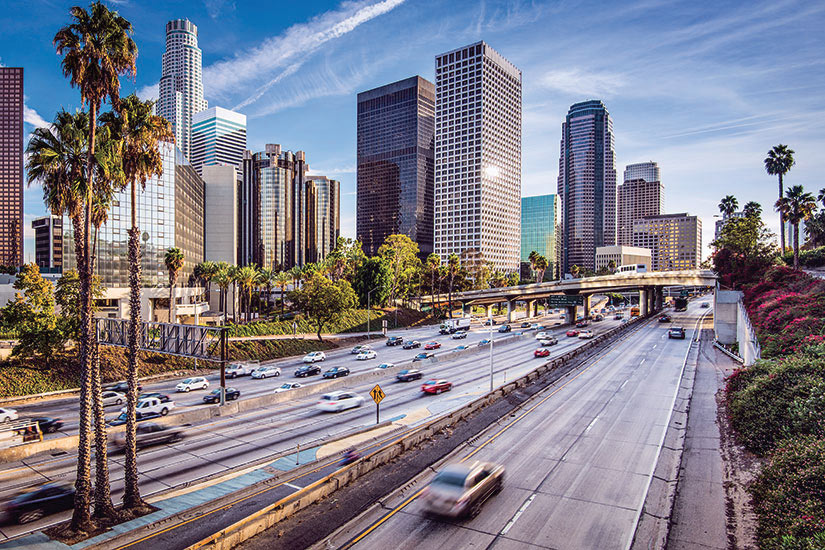 image USA Los Angeles centre paysage urbain  it