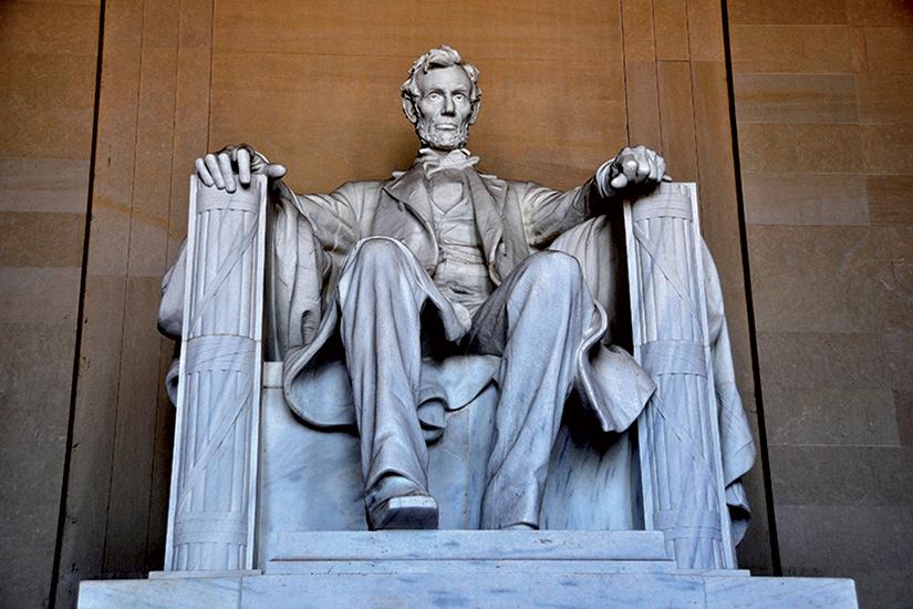 image USA Washington DC inside the Lincoln Memorial 11 as_133569059