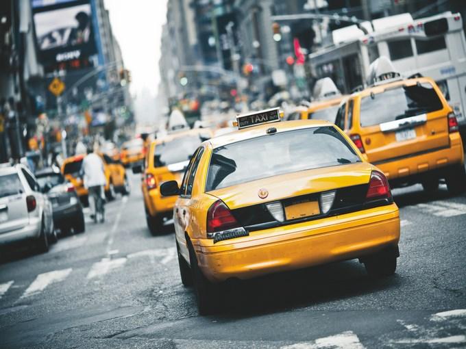 image USA new york taxi