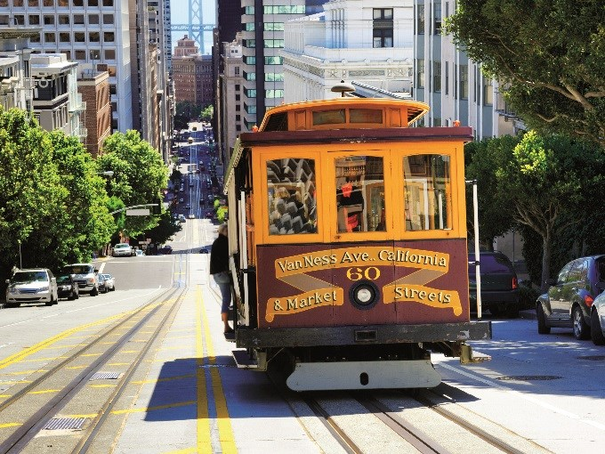 image USA san francisco tram