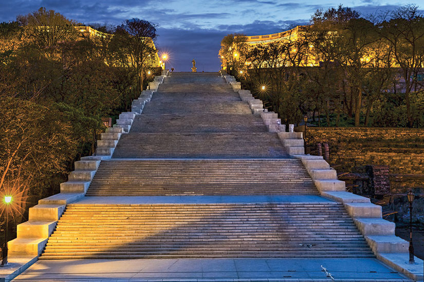 image Ukraine Odessa Escalier Potemkine  fo
