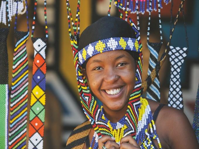 image Zimbabwe jeune femme zoulou