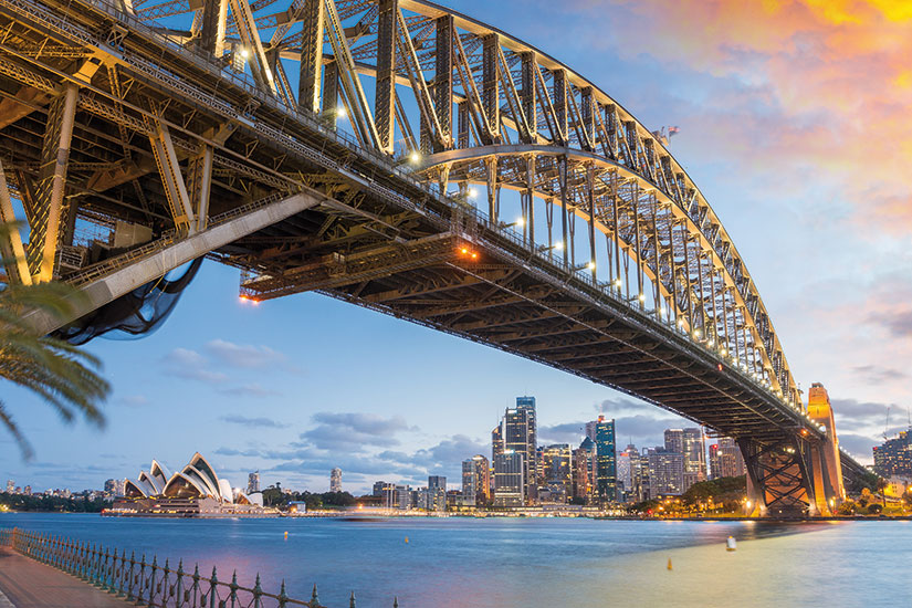 image australie sydney port pont  fo