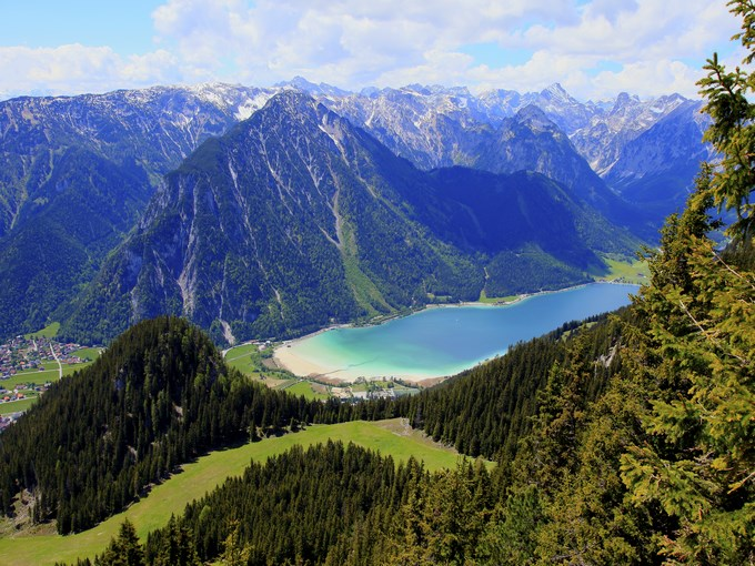 image autriche tyrol lac achensee
