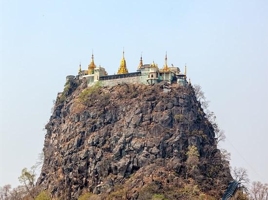 image birmanie mont popa