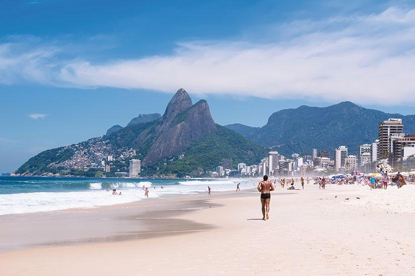 image bresil rio de janeiro plage ipanema  it