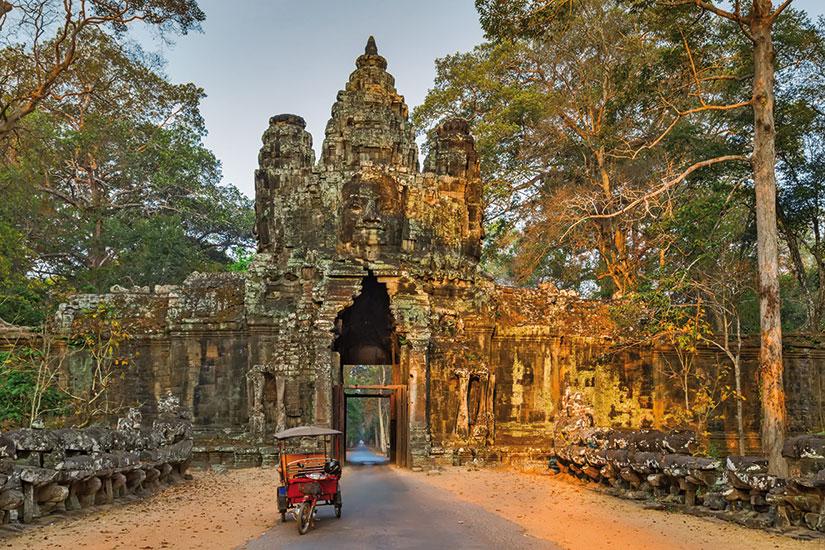image cambodge angkor wat matin  fo