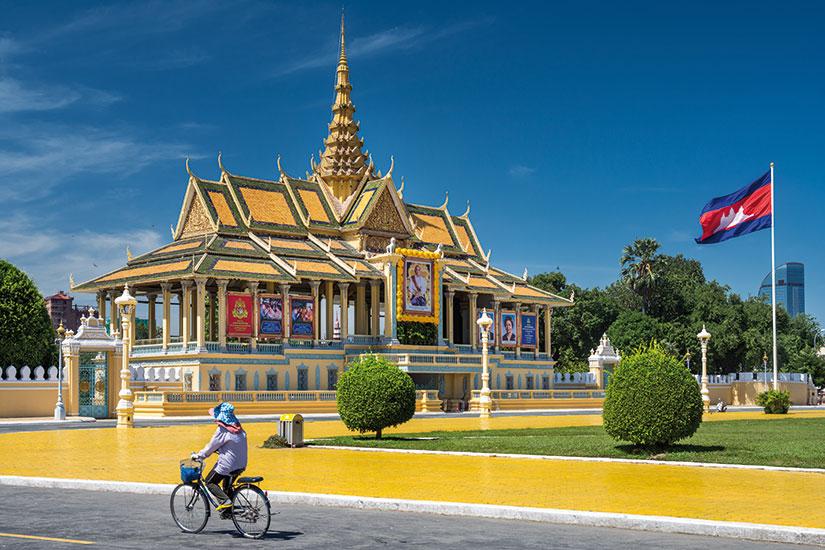 image cambodge phnom penh royal palace  fo