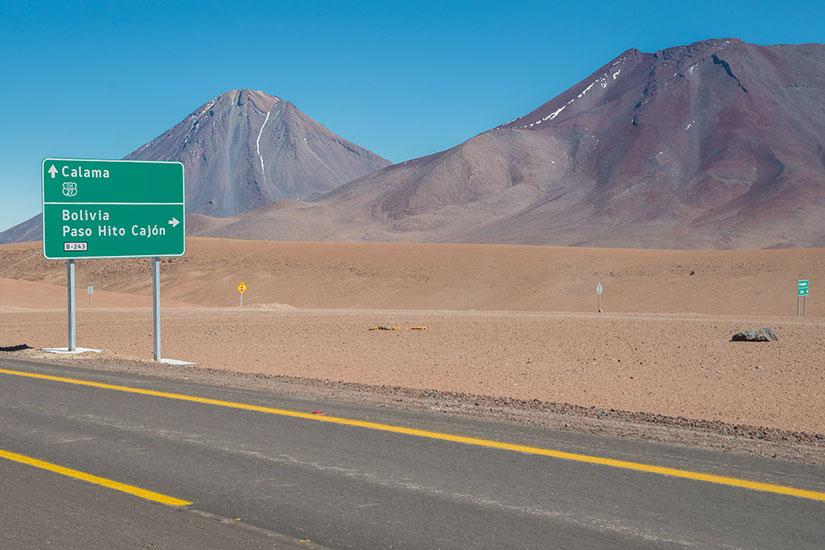image chili route sign desert  fo