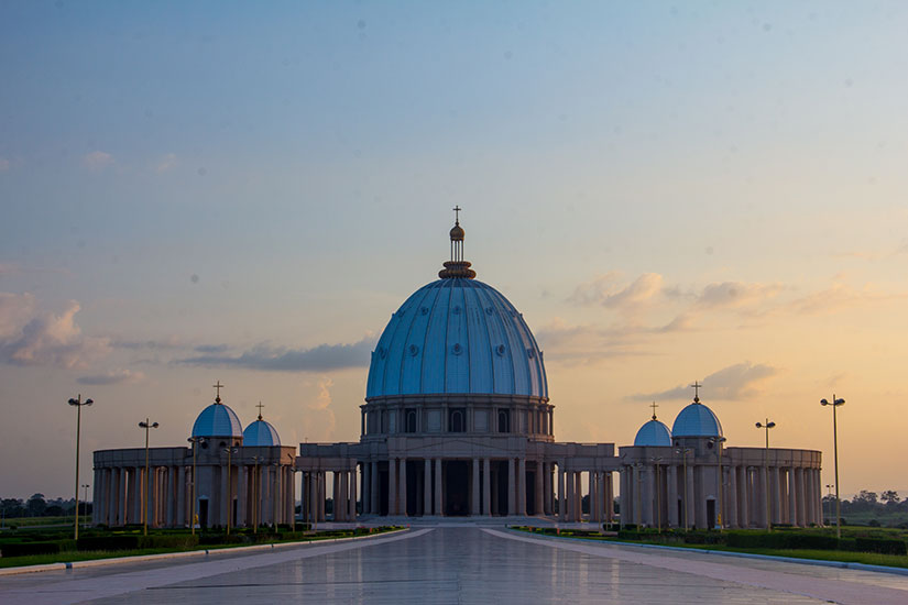 image cote d ivoire Yamssoukro cathedrale it