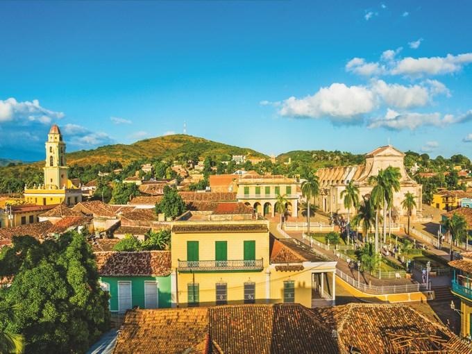 image cuba trinidad maisons