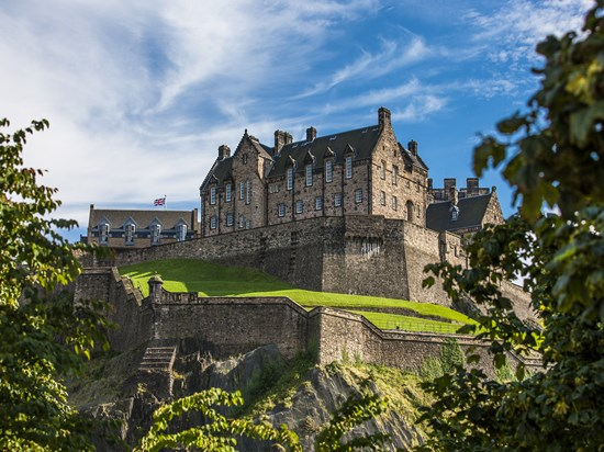 image ecosse edimbourg castle