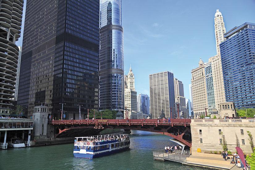 image etats unis chicago riviere  fo