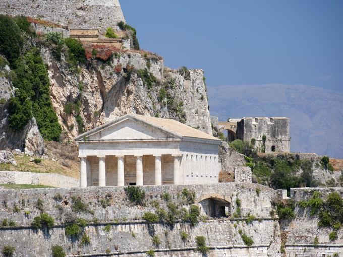 image grece corfou temple