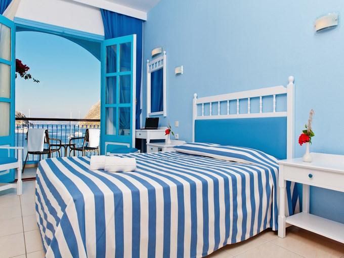 image grece rhodes symi hotel pedi beach chambre