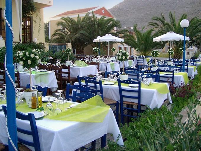 image grece rhodes symi hotel pedi beach terasse
