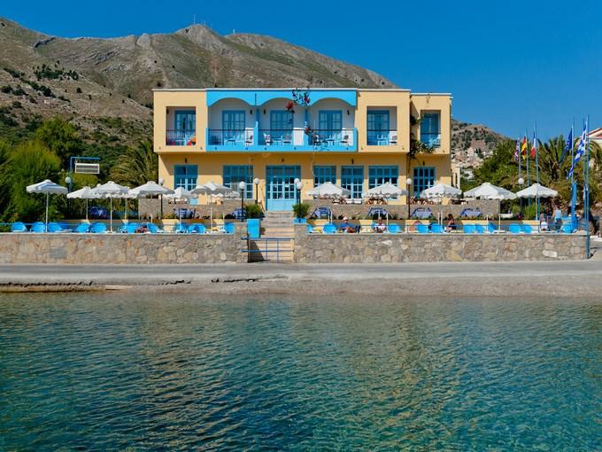 image grece rhodes symi hotel pedi beach vue ensemble