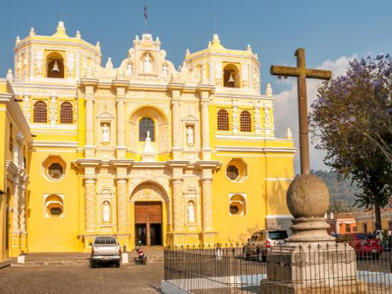 image guatemala antigua eglise merced