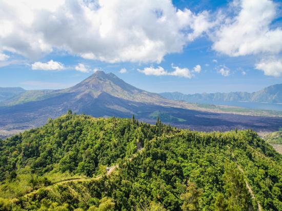 image indonesie mont batur