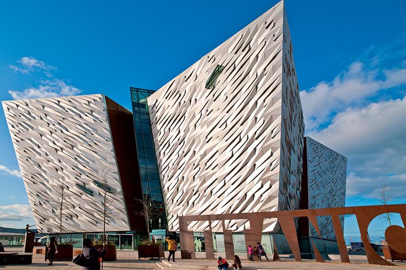 image irlande belfort musee Titanic
