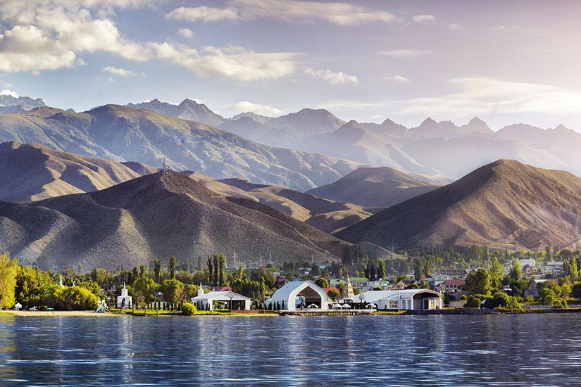 image kirghizistan lac issyk kul  fo