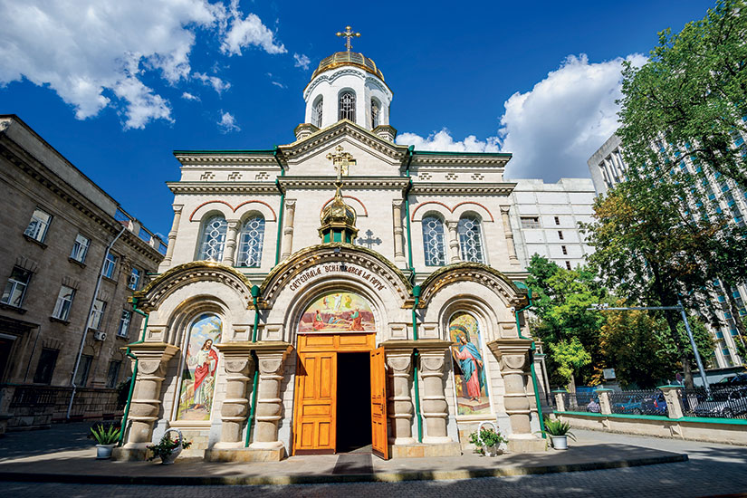 image moldavie chisinau eglise transfiguration  fo
