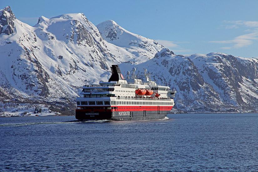 image norvege express cotier MS Nordnorge